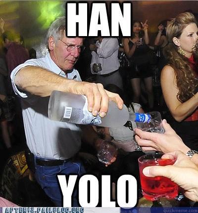 Han Solo han yolo Harrison Ford yolo - 6206761472