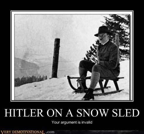 hilarious hitler sled snow - 6206888704