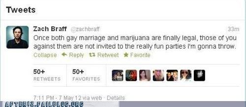 tweet twitter Zach Braff - 6206933760