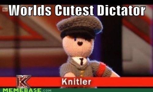 cute dictator hitler hugs jews Knitler Memes - 6207197184