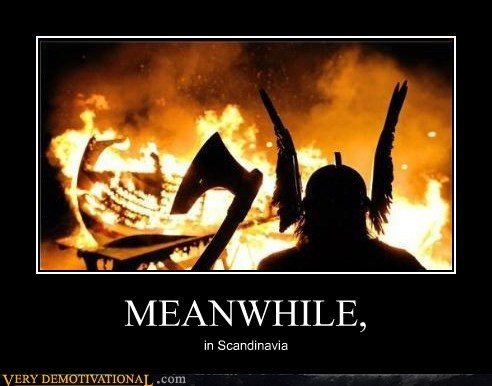 boat fire hilarious vikings-scandinavia - 6207597568