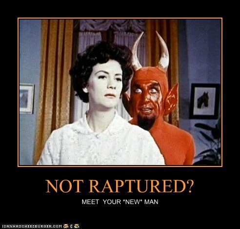 demotivational,devil,funny,lady,Photo,religion