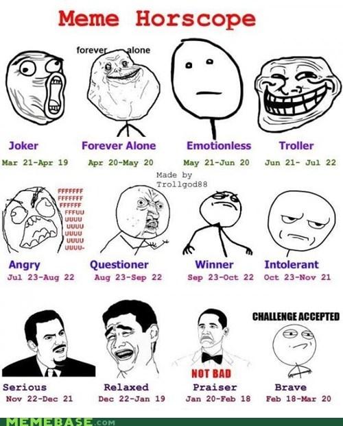 horoscope,Memes,Rage Comics