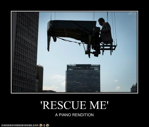 'RESCUE ME' A PIANO RENDITION