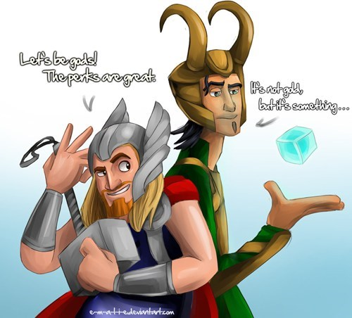 avengers dreamworks Fan Art loki marvel miguel the road to el dorado Thor tulio - 6209291520