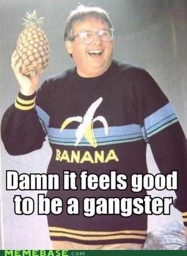 banana gangster Memes pineapple this guy - 6209303040