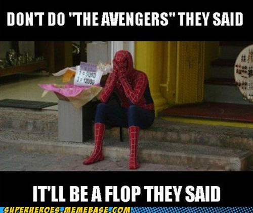 avengers flop Sad Spider-Man Super-Lols - 6209507840