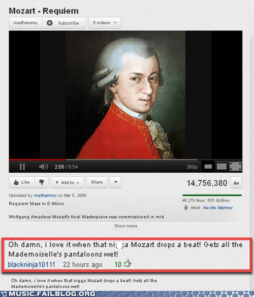 classical commentf mozart youtube youtube comments - 6209516800