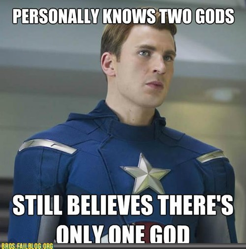 bros,captain america,faith,god,g rated,monotheism,Movie,movies,religion,The Avengers,Thor