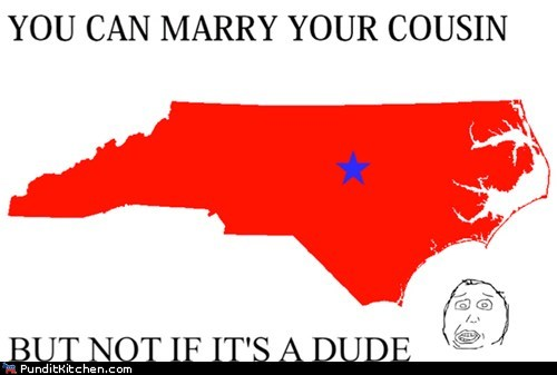 gay marriage,gay rights,North Carolina,political pictures