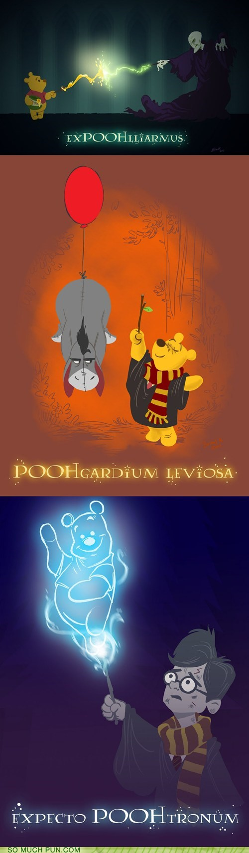Hall of Fame Harry Potter literalism magic pooh replacement similar sounding spells syllable winnie the pooh - 6209740288