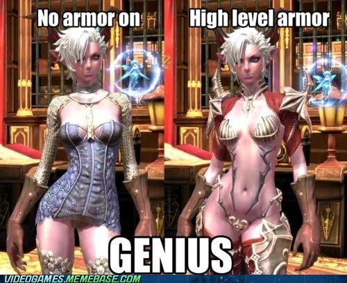armor clothing genius PC tera