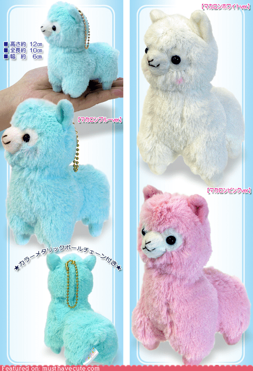 alpaca,Pastel,Plush,stuffed