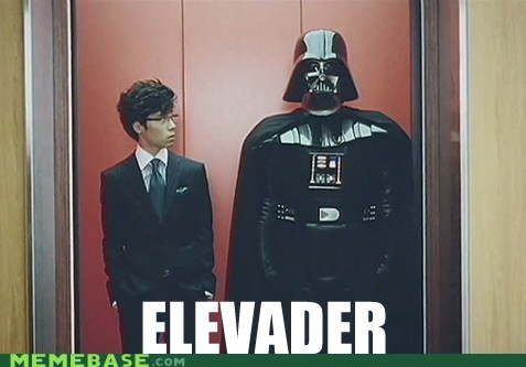 darth vader,elevator,Memes,star wars