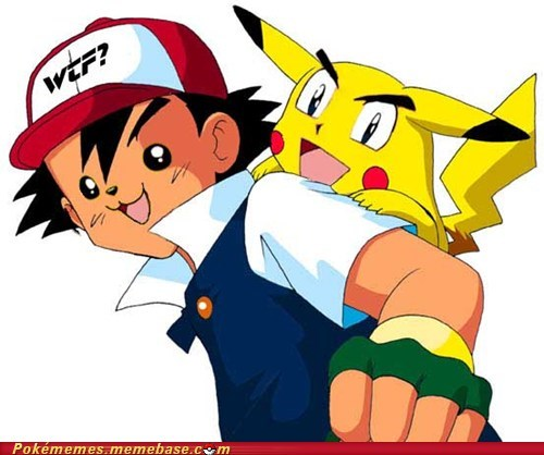 ash face replace pika pika pikachu the internets wtf - 6210122240