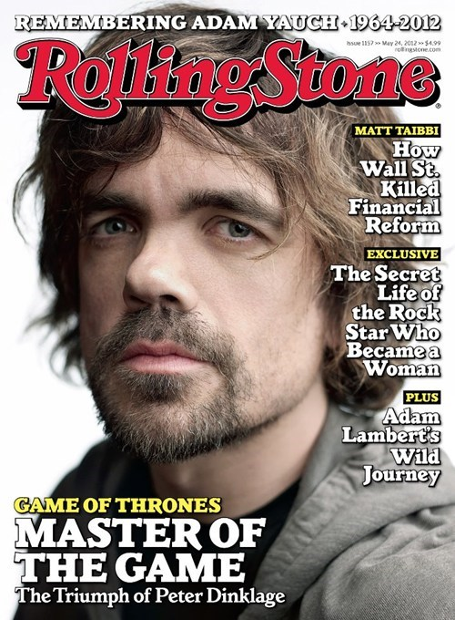 cover,peter dinklage,rolling stone,tyrion lannister