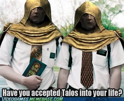 jehovahs witnesses religion Skyrim talos the internets - 6210223360