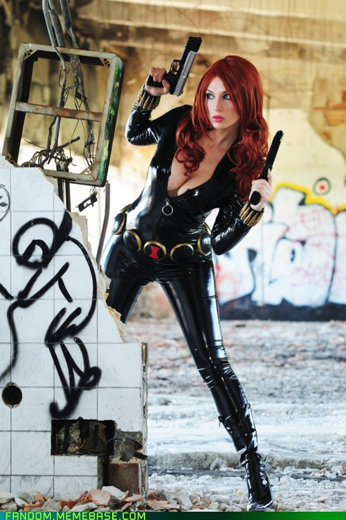 avengers Black Widow cosplay movies shield
