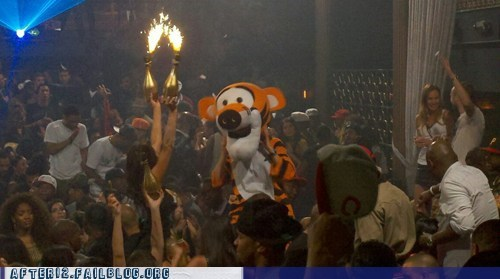 frat house frat party hundred acre wood tigger winnie the pooh
