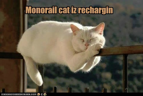 Monorail cat iz rechargin