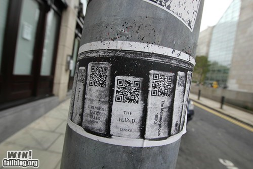 books Dublin hacked irl library QR code - 6210540288