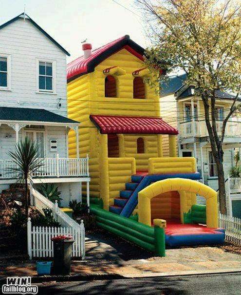 Bounce House bouncy design Hall of Fame house inflatable whee
