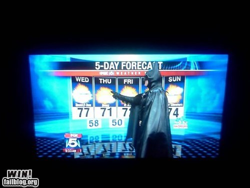 batman,news,super heroes,weather,weather report