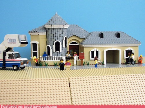 arrested development blocks build lego set TV