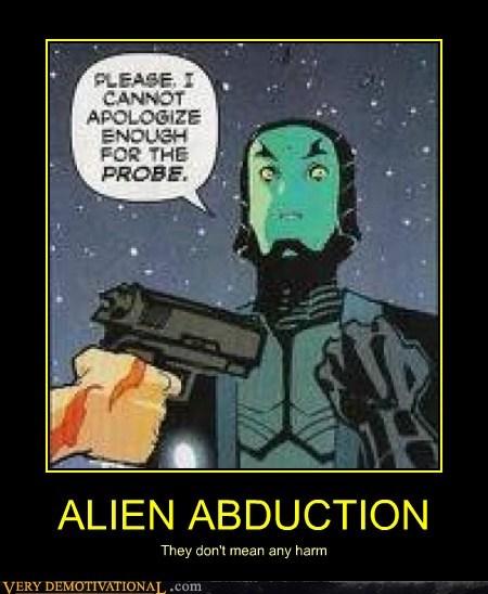 alien abduction eww hilarious probe - 6210686464