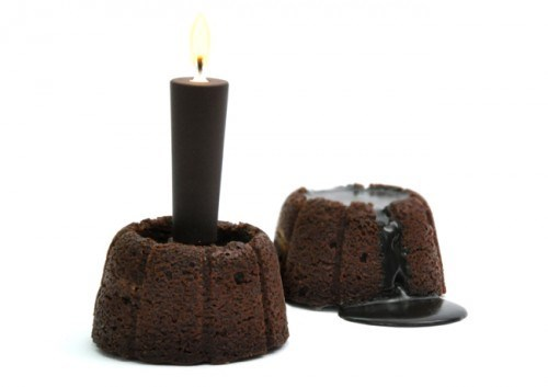 chocolate candle Kickass Comestible - 6210793984
