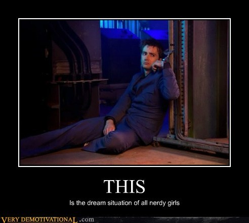 doctor who,hilarious,nerd girls,sexy times,trapped