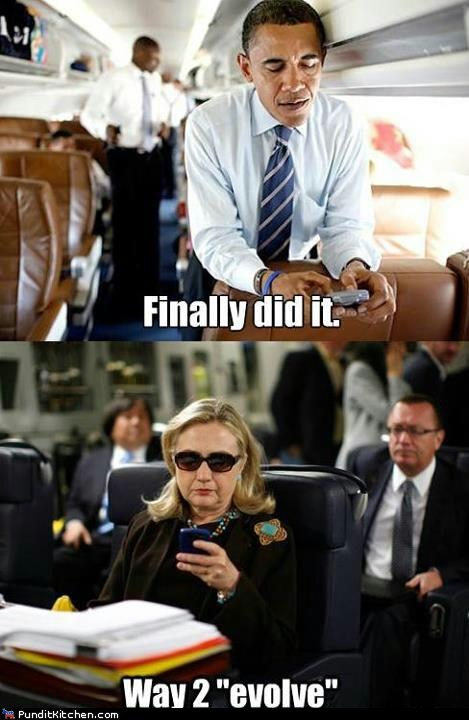 barack obama Hillary Clinton Memes political pictures - 6210920448