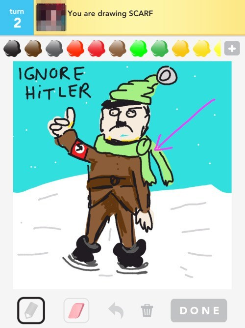 draw something,godwins-law,hitler,Photo,Single Topic Tumblr