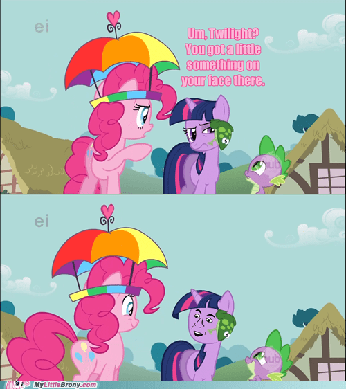 comic meme pinkie sense spike you dont say - 6211133440