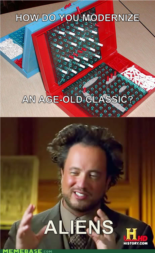 games,modernize,ancient aliens,classic