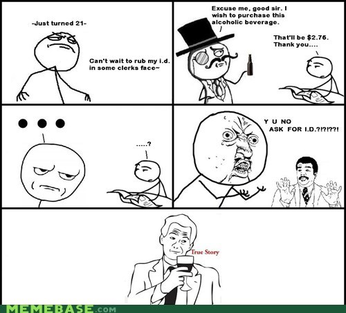 carded Y U NO are you kidding me true story id - 6211289344