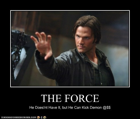 THE FORCE He Does'nt Have It, but He Can Kick Demon @$$