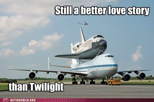better love story than tw manned space missions nasa space shuttle - 6211747840
