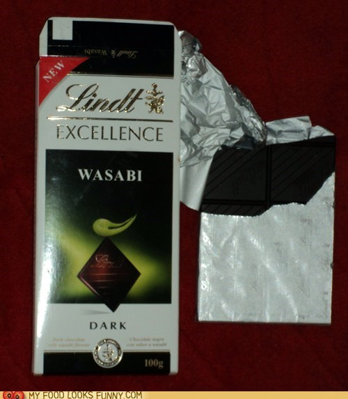 Wasabi chocolate