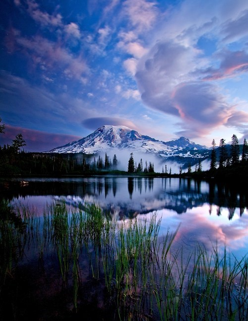 Hall of Fame,lake,mountain,sunrise,washington