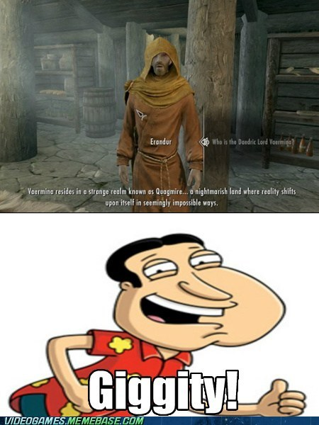 family guy gameplay giggity quagmire Skyrim - 6212924416
