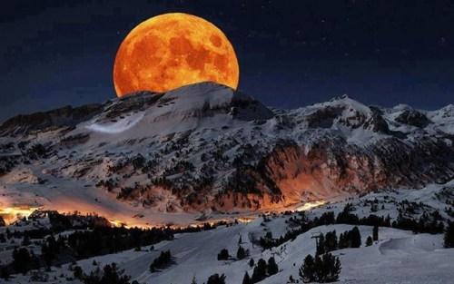 california Hall of Fame moon mountain national park night - 6213007104