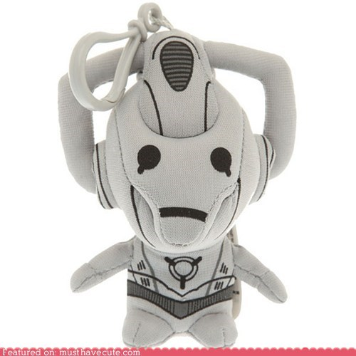clip,cyberman,doctor who,Plush