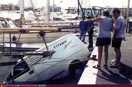 ironic maiden sink titanic van voyage wtf - 6213083136