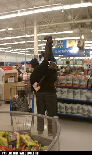 dad disobedient child Walmart