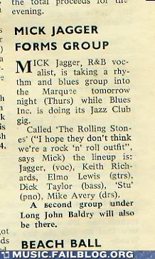 jazz,mick jagger,news,rock,the rolling stones