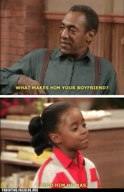 bill cosby,boyfriend,daughter,i told him