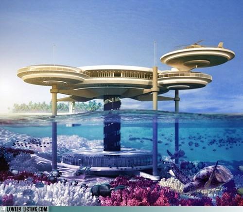 crazy dubai hotel underwater - 6213546496