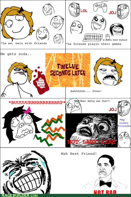 lady like not bad Rage Comics soda - 6213589248