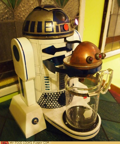 caffeine coffee pot modified r2d2